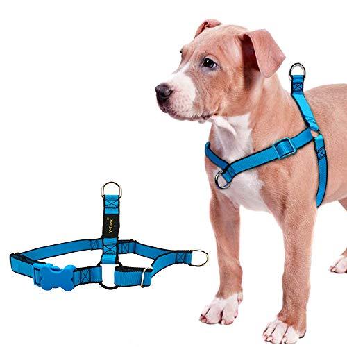 V-Dank ペット ハーネス リード セット 犬 猫 首輪 胴輪 超小型犬 小型犬 ベストハーネス 胸あて式 軽量 サ...