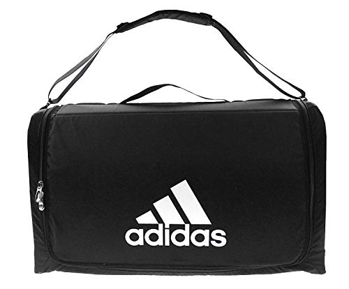 Adidas Structured Large Shoulder Travel Bag Carry On Weekender