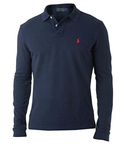 Ralph Lauren - T-Shirt à manches longues - Homme Bleu Bleu