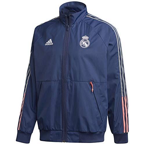 Adidas 2020-21 Real Madrid Anthem Jacket - Navy S