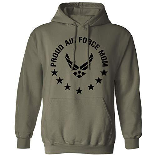 Proud Air Force Mom Hooded Sweatshi…