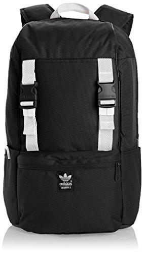 adidas Rucksack Backpack Campus, black/white, 30 x 14 x 47 cm, 27...