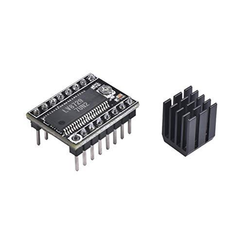 Tree-on-Life LV8729 Schrittmotor StepStick Mute-Treiber Sehr leiser Treiber Voller Mikroschritt-Treiber Steuern des 3D-Druckerzubehörs