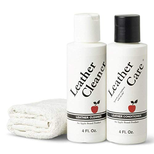 Apple Brand Leather Cleaner & Conditioner Kit