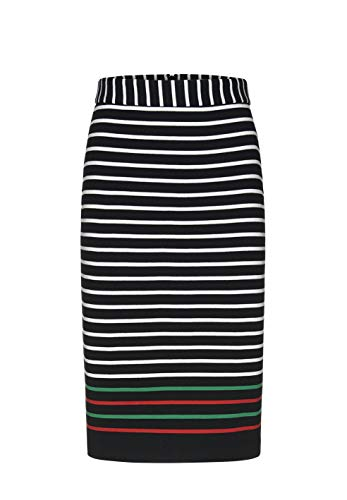 ARMEDANGELS damesrok van bio-katoen - AGATAA Contrast Stripes - 100% katoen (bi) rok sweat
