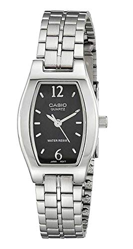 Casio Collection LTP-1281PD-1A, Reloj Análogo Clásico, Acero Inoxidable, Plateado