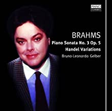 Piano Sonata 3 / Variations on a Theme of Handel