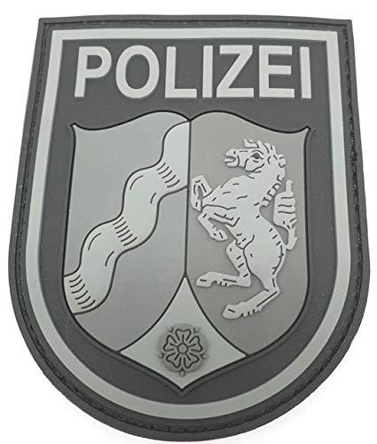 Polizeimemesshop NRW Patch Black Ops Rubberpatch mit Klett