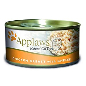 Applaws Cat Tin NVS Chicken & Cheese 24 x 156