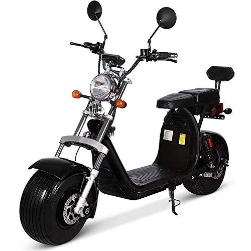 Woodtree Bicicleta eléctrica neumático de la Motocicleta eléctrica 2000W 18 Pulgadas Grasa...
