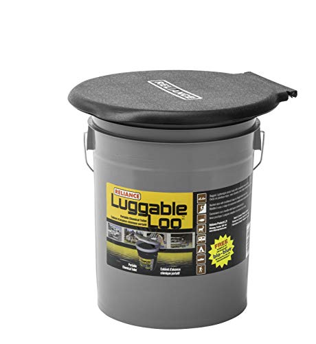 Reliance Control Corporation Luggable Loo Portable 5 Gallon Toilet