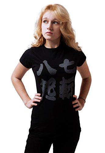 Strand Clothing - T-Shirt - Manches Courtes - Femme Noir Noir - Noir - Large