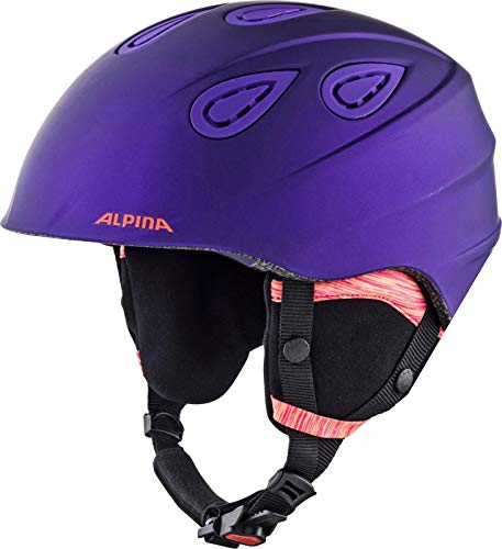 ALPINA GRAP 2.0 L.E. Skihelm, Unisex – Erwachsene, royal-purple matt, 57-61