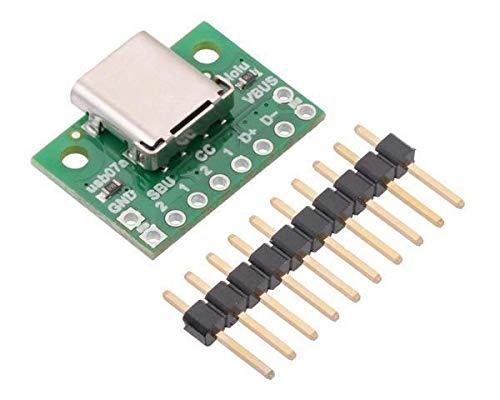 Pololu Conector USB 2.0 tipo C. 1