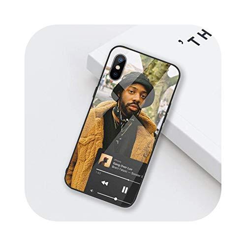 Funda de teléfono de vidrio templado para iPhone 6 6S 7 8 Plus X XS XR 11 12 mini PRO MAX-a3-iphone12promax