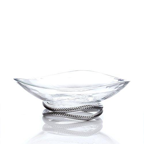 Nambe Braid Centerpiece Bowl