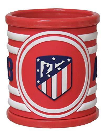 CYP BRANDS- Taza Rubber Atlético de Madrid, Multicolor, 0 (MG-03-ATL)