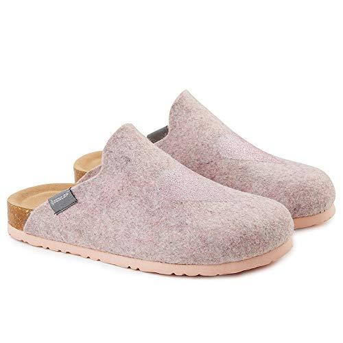 Dunlop Zapatillas de mujer con diseño de corazón o estrella, color, talla 37 EU