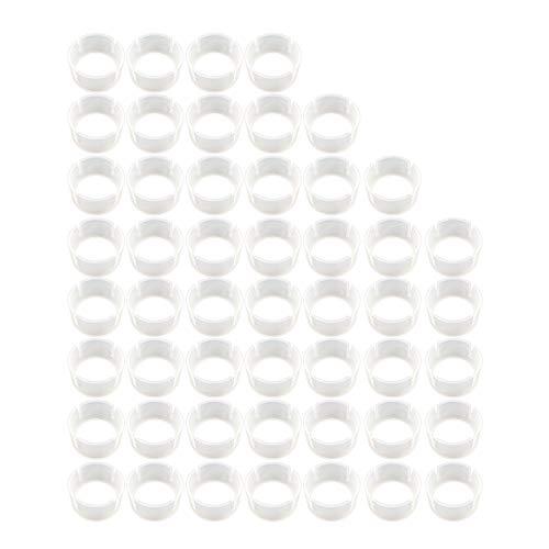 Nanxin 50 Stks Ballon Bow Ring Gesp voor Party Decoratie, Verjaardag, Huwelijk, Jubileum, Kerstmis Evenementen ect
