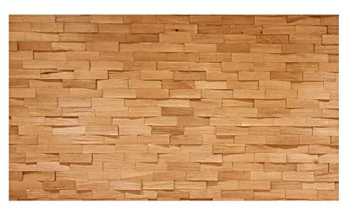 Spaltholz Wandverkleidung Eiche Echtholz Massiv Naturbelassen Handgemacht