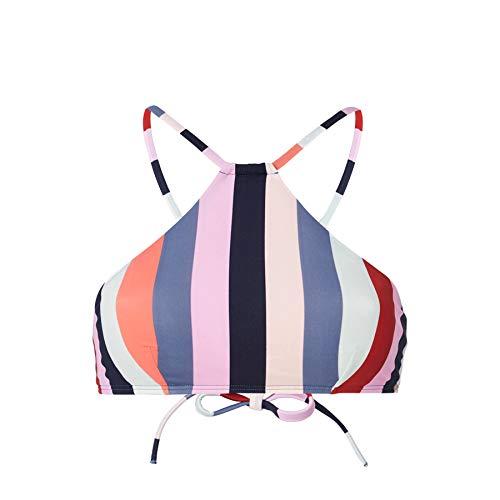 O'Neill Damen Pw Cali Mix Top Bikinis Top, Mehrfarbig (3950 Red AOP W/Blue), 38