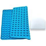 IWILCS, tappetino da forno in silicone, mini stampo a forma...