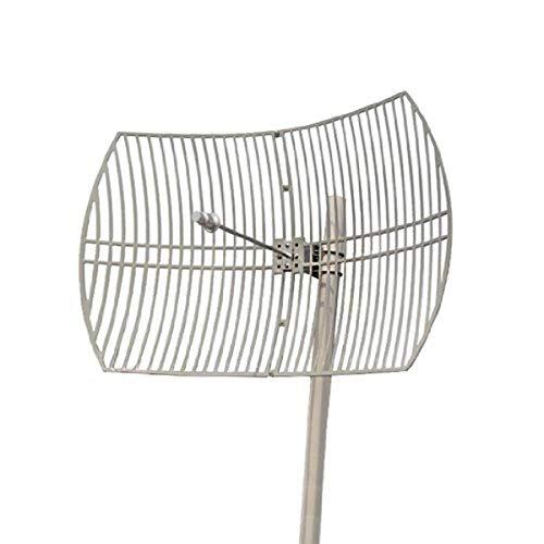 Premiertek Outdoor 5GHz 30dBi Directional High-Gain N-Type Female Aluminum Die Cast Grid Parabolic Antenna (ANT-5158-30DBI)