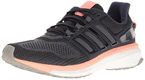 adidas Women's Energy Boost 3 W Running Shoe, Midnight Mid Grey Still Breeze F, 11.5 M US