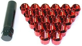 Muteki (Open End Red 12x 1.5) Super Tuner Nuts Light Weight Wheel Lug Nut