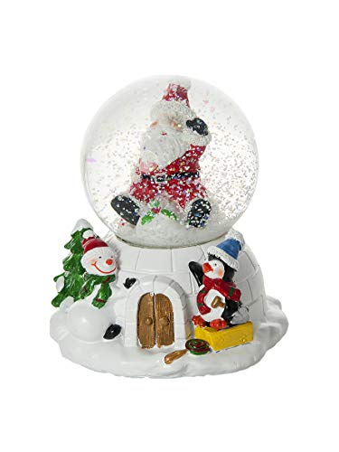 Mousehouse Gifts Christmas Snow Globe Musical Santa &...