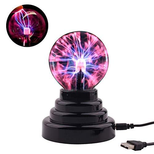 Bal Lamp USB Opladen Magic Elektrostatische Licht 3,5 inch USB Magic Elektrostatische Ion Ball Lights Bliksem Bal Nachtlampjes Baby Geschenken Kinderen Verjaardagscadeaus Kerstmis