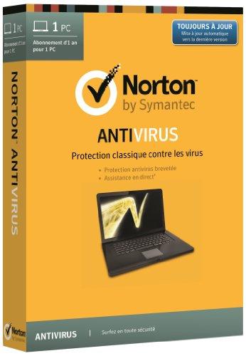 Norton antivirus 2014 (1 poste, 1 an)