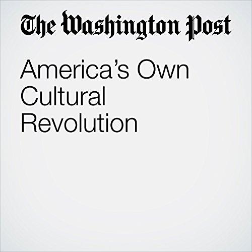 America's Own Cultural Revolution copertina