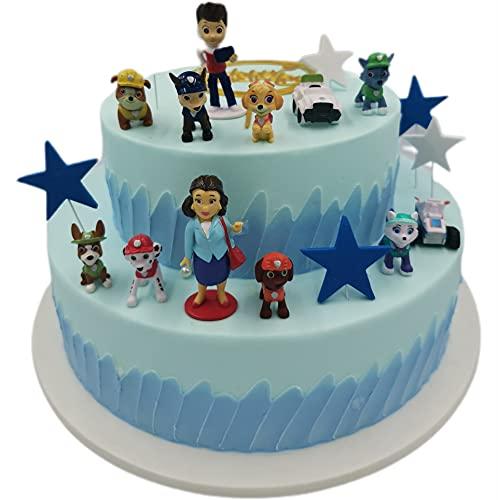 HYDEGY-YG Tortenfiguren, 12er MiniFiguren Tortendeko, Geburtstags Party liefert Cupcake Figuren, Cake Topper, Party Kuchen Dekoration Lieferungen