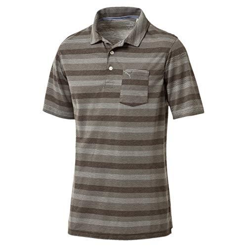 PUMA Herren Local Pro Polo Shirt, Forest Night, M