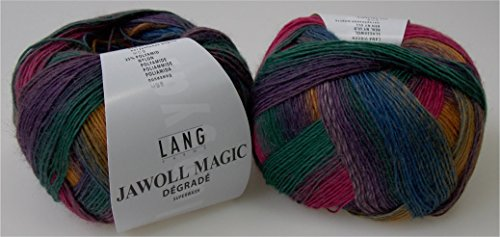 Lang Yarns Jawoll Magic Degrade 0054 / 100g Wolle