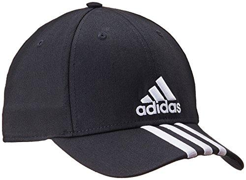 ADIDAS performance 3 stripe cap [black]