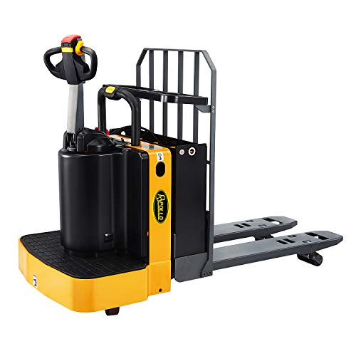 """APOLLOLIFT 48"""" x27"""" Full Electric Stand On Type Pallet Jack Truck 5500lbs Capacity"""