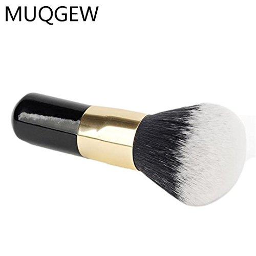MuSheng(TM) la taille de 1pcs gros pinceau blush poudre brosse pour cosmétiques maquillage doux visage beauté finition bois poignée noire à poudre makeup