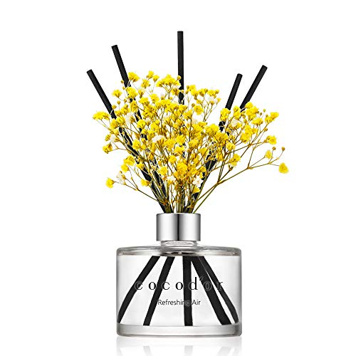 Cocod'or Preserved Real Flower Reed Diffuser / Refreshing Air /