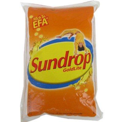 Sundrop Gold Lite Oil, Pouch, 1L