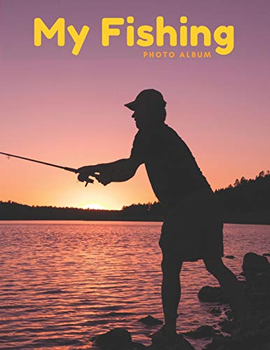 My Fishing Photo Album: Photo album for anglers, put photos of all your caught fishes in one place, additionally contains space for entering the title, location, date and notes for each photo.