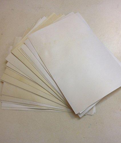 Pergamena pergamena Pelle Pelle di Capra Fatto A Mano (20,3x 30,5cm)