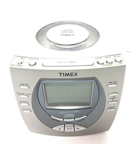 naxa electronics projection alarm clocks Timex CD Player Alarm Clock Nature Sounds
