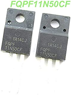 10ピースFQPF11N50CF 11N50CF 11N50 FQPF11N50 mosfet 500ボルトn-ch adv Q-FET c-シリーズto-220f新しいオリジナル