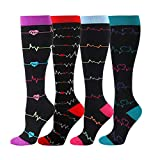 Compression Socks for Men & Women - Best for Running, Sport, Nurse, Travel