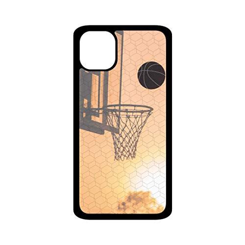 Funda móvil Baloncesto Canasta Compatible con iPhone 11. Carcasa de TPUde Alta protección. Funda Antideslizante, Anti choques y caídas.