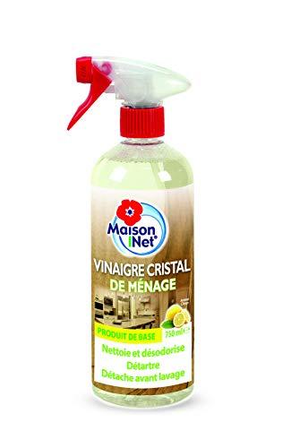 Maison Net Vinaigre Cristal de Ménage Arôme Citron 750 ml