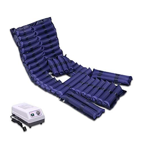 DW mat Anti-Dekubitus Medizinische Matratze mit Verstellbarer Luftkompressor des Wechseldruck Matte for Dekubitus und Wundliegen, Passend for Standard-Krankenhaus-Bett