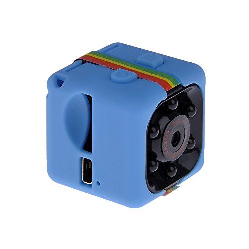 MM Camera de Vision Nocturne 1080p HD Camera de Video Camera D'enregistrement Bleu